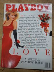 Picture of PLAYBOY FEBRUARY 1989 LOVE SPECIAL ISSUE