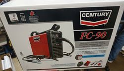 Picture of Century Wire Feed Welder and Gun 90 Amp FC90 Flux Core 120V
