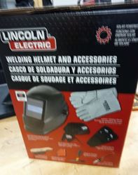 Picture of LINCOLN ELECTRIC Welding Helmet Kit,Universal,Plastic, KH977