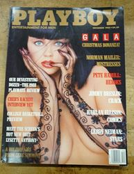 Picture of Playboy December 1988 ~ Gala Christmas Bonanaza, GENE SIMMONS MINT CONDITION.