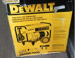 Picture of NEW Dewalt 7,000-Watt Gasoline Powered Elec Start Portable Generator. DXGNR7000