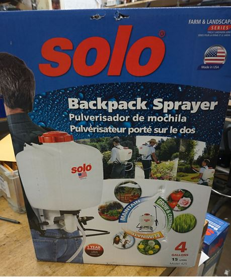 Picture of 4-Gallon HDPE Backpack Sprayer SOLO 425 NEW