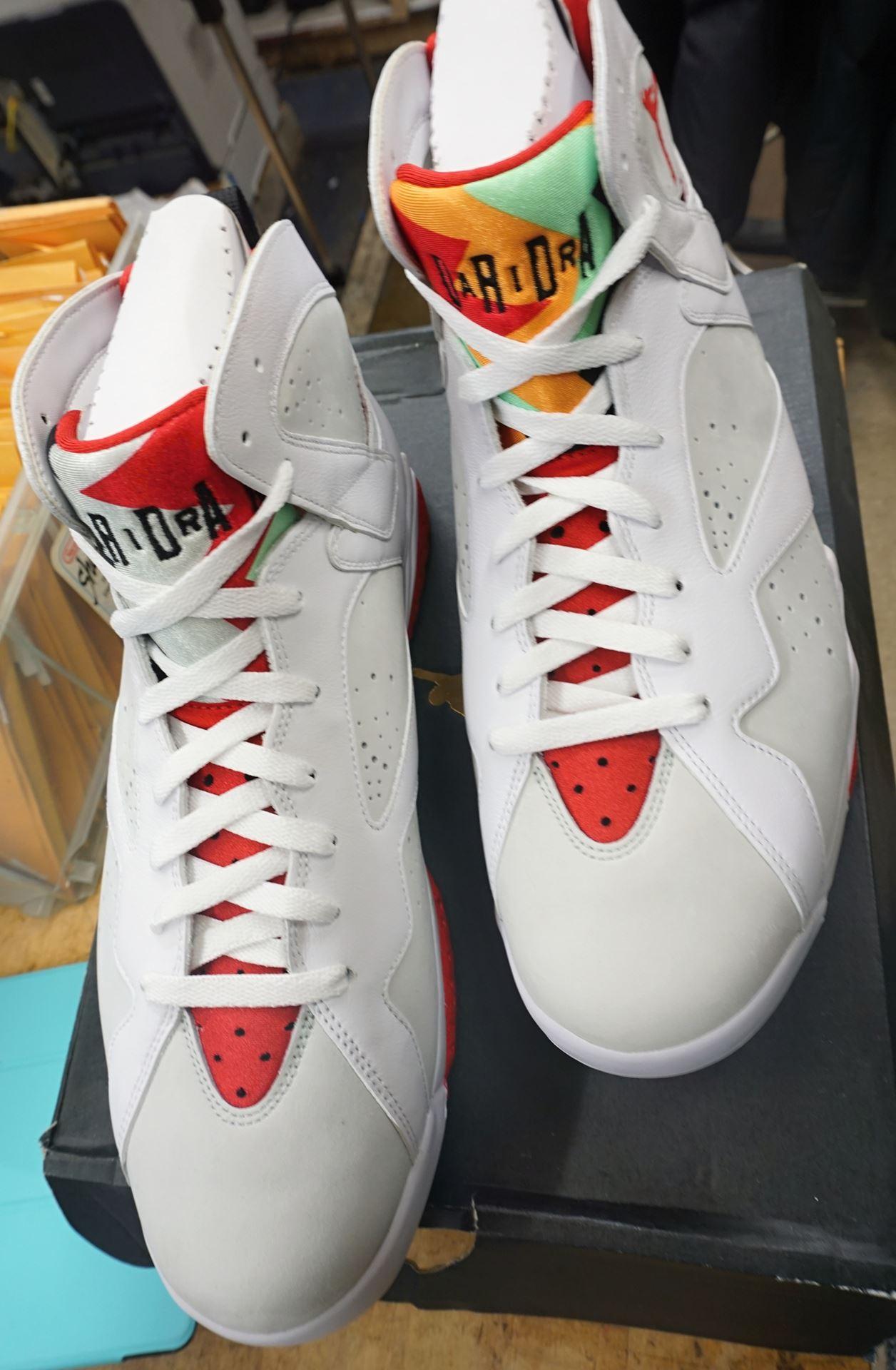 "0aca48d6c2d0f1 ... Picture of Nike Air Jordan 7 Retro ""Hare"" 2015 Style   304775-125 ..."