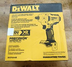 Picture of DEWALT DCF894B 20V Cordless Impact Wrench Tool NEW