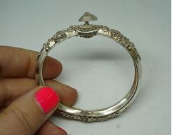 Picture of STERLING SILVER 925 BRACELET 16.9GR TOTAL DIAMETER 6 INCH VINTAGE