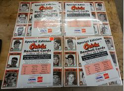 Picture of Baltimore Orioles 1991 Special Edition Crown Baseball Cards-complete set of 4