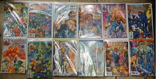 Picture of LOT 12 MARVEL FANTASTIC FOUR
