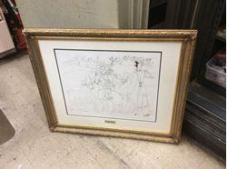 Picture of Pablo Picasso lithograph