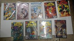 Picture of LOT 9 MARVEL COMICS X MEN 33 32 31 30 16 15 14 18 19  COLLECTIBLE. VERY GOOD CONDITION.