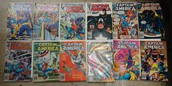 Picture of LOT 12 MARVEL CAPTAIN AMERICA COMICS 294 JUNE;  295 JULY;  291 MARCH;  297 SEPTEMBER; 302 FEBRUARY; 304 APRIL; 296 AUGUST; 289 JANUARY; 290 FEBRUARY ; 282 JUNE; 292 APRIL; 293 MAY. VERY GOOD CONDITION. COLLECTIBLE