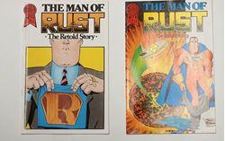 Picture of THE MAN OF RUST THE RETOLD STORY COMICS LOT OF 2 NO.1 A; NO 1.B COLLECTIBLE GOOD CONDITION