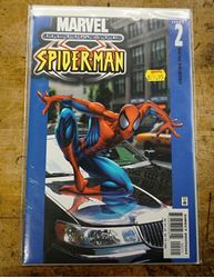 Picture of Marvel  ultimate spider man comics  issue 2 collectible. very good condition.