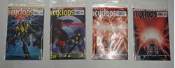 Picture of marvel cyclops comics lot 4 collectible