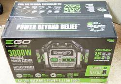 Picture of Ego Power + Nexus Power Station 3000 watts PST3042 portable generator inverter