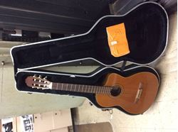 Picture of Takamine guitar musical instrument with case good condition . 849765-1.
