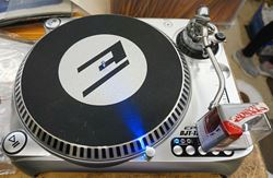 Picture of EPSILON DJT-1300 USB TURNTABLE  GENTLY USED. TESTED. IN A GOOD WORKING ORDER. WITH NUMARK CARTRIDGE AND NEEDLE CC-1  NEW.