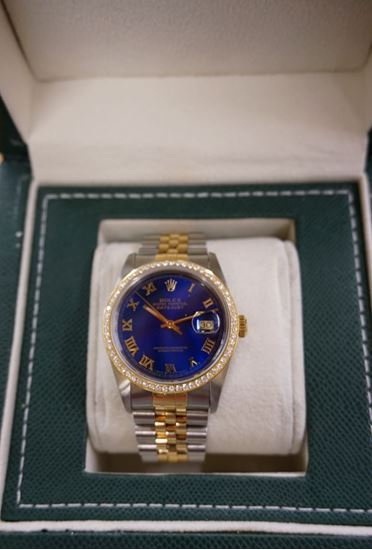 Picture of ROLEX DATE JUST 16233 WATCH LIKE NEW MINT