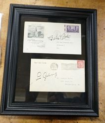Picture of BABE RUTH AND LOU GEHRIG SIGNED FIRST DAY COVERS MINT COLLECTIBLE WITH COA 1930