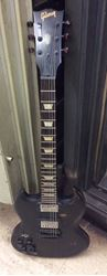 Picture of Gibson made in USA 2013 model left handed fixer upper need restoration sounds good play good 849444-1.