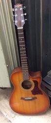 Picture of Carlo Robelli acoustic electric guitar beautiful sound pre owned 813978-1