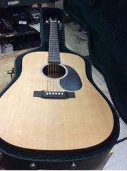 Picture of Martin electric acoustic guitar DRS2 mint pre owned with case 848994-1