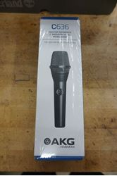 Picture of AKG C636 Master Reference Condenser Vocal Microphone Black NEW. SEALED
