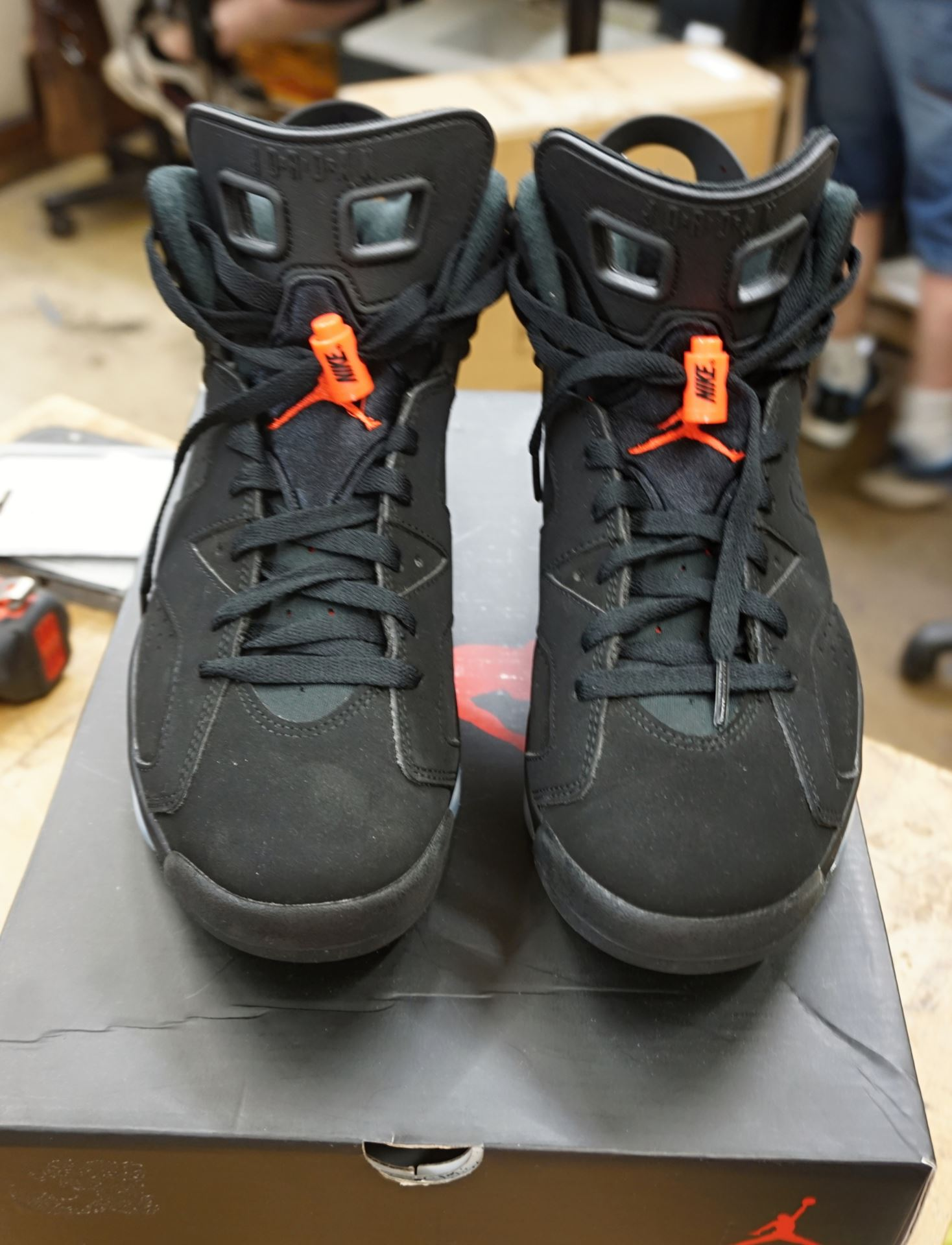 huge selection of 54c1e bc2a7 NIKE AIR JORDAN 6 RETRO 'INFRARED 2019' - 384664-060 SIZE 8 NEW. IN BOX.
