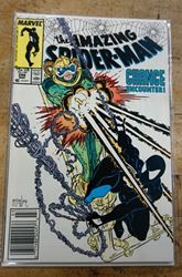 Picture of MARVEL THE AMAZING SPIDER MAN COMIC BOOK 298 MARCH 1987 MINT CONDITION. COLLECTIBLE.