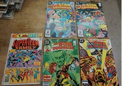 Picture of LOT 5 DC ALL STAR SQUADRON COMIC BOOKS NOV 27;NOV 84; JUNE 85; SEPT 85; SEPT 6. VERY GOOD CONDITION. COLLECTIBLE.