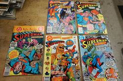 Picture of LOT 5 DC COMICS SUPERMAN  53 JAN 1983; 330 DEC1978; 328 OCT1978; 46 JUNE 1982; 5 1977 . VERY GOOD CONDITION. COLLECTIBLE.