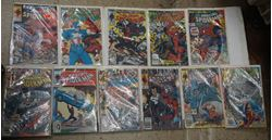 Picture of LOT 11 THE AMAZING SPIDER MAN MARVEL COMICS 331 APRIL; 330 MARCH; 329 FEBRUARY; 328 JANUARY; 332 MAY; 306 EARLY OCTOBER; 326 DECEMBER; 327 MID DECEMBER; 322 LATE OCTOBER; 323 EARLY NOVEMBER; 325 LATE NOVEMBER. VERY GOOD. COLLECTIBLE.