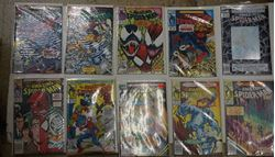 Picture of LOT 10 MARVEL COMIC THE AMAZING SPIDER MAN 360 MARCH; 359 FEBRUARY; 365 AUGUST; 363 JUNE; 364 JULY; 366 SEPTEMBER; 367 OCTOBER; 369 LATE NOVEMBER; 371 LATE DECEMBER; 372 EARLY JANUARY. MINT CONDITION.COLLECTIBLE