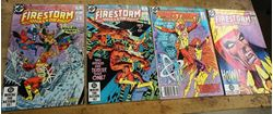 Picture of LOT 4 DC COMICS THE FURY OF FIRESTORM THE NUCLEAR MAN NO 12 MAY ; NO 22 APRIL 1984; NO 11 APRIL; NO 4 SEPTEMBER. MINT CONDITION. COLLECTIBLE.