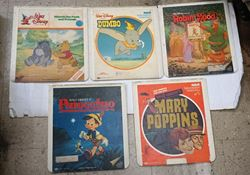 Picture of 5 RCA SELCTA VISION VIDEO DISKS DISNEY