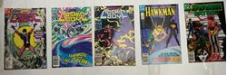Picture of LOT 5 DC COMICS COSMIC BOY 4 3 1; HAWKMAN 10; THE DOOM PATROL 4 MINT