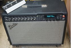 Picture of FENDER CYBER TWIN GUITAR AMPLIFIER WITH  FOOT SWITCH PEDAL COVER MANUAL USED. TESTED . IN A GOOD WORKING ORDER.