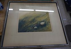 """Picture of FRAMED PICTURE """"UNDER WAVE """" BY ARTIST SCOTT WILSON FREE SHIPPING"""