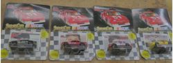 Picture of  LOT 4 RACING CHAMPIONS CARS 1991 KENNY WALLACE; DALE JARRETT; JAY FOGLEMAN ; TRACY LESLIE. NEW. NEVER BEEN USED. COLLECTIBLE.