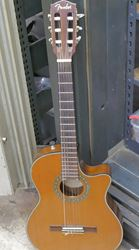Picture of FENDER ACOUSTIC ELECTRIC GUITAR CN-240SCE. USED. TESTED. VERY GOOD CONDITION. 850671-1