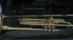 Picture of Bach Aristocrat Trumpet Model Tr 600 USED TESTED  IN  A GOOD WORKING ORDER. NOTE NO MOUTH PIECE