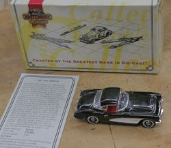Picture of Matchbox Oldies But Goodies Collection - 1956 Chevrolet Corvette DYG06 WITH COA . NEW. COLLECTIBLE WITH COA. BOX.