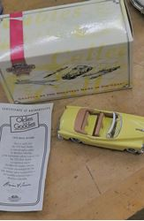 Picture of Matchbox Collectibles Dinky 1953 Buick Roadmaster Skylark Yellow 1:43 Scale COA. VINTAGE. COLLECTIBLE.