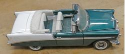 Picture of Franklin Mint 1956 Chevy Belair Convertable 1:24 PRE OWNED COLLECTIBLE.