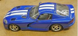 Picture of 1996 Dodge die-cast, 1/18th scale Made in Italy COLLECTIBLE GOOD CONDITION.