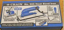 Picture of Crain 905 Carpet Seam Iron Heat Bond Iron New Sealed