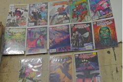 Picture of Lot 13 Marvel The Amazing Spider Man Comics 54 495;part  of 6 august 204;  574; variant edition 573; 507; 573 ; 58 499; 504 ; 57 498; 520 ; 573 ; 596; 564.  very good condition. collectible.