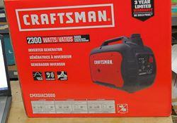 Picture of Craftsman CMXGIAC3000 Gas Inverter Generator 2300 Running Watts C0010030 **NEW**. IN BOX.