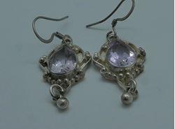 Picture of Sterling silver 925 vintage earrings 6.5 grams 853592-15