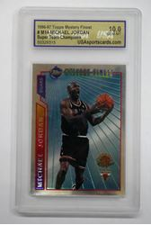 Picture of 1996/1997 Topps Michael Jordan Mystery Finest Refractor #M14 10.0 GEM MT